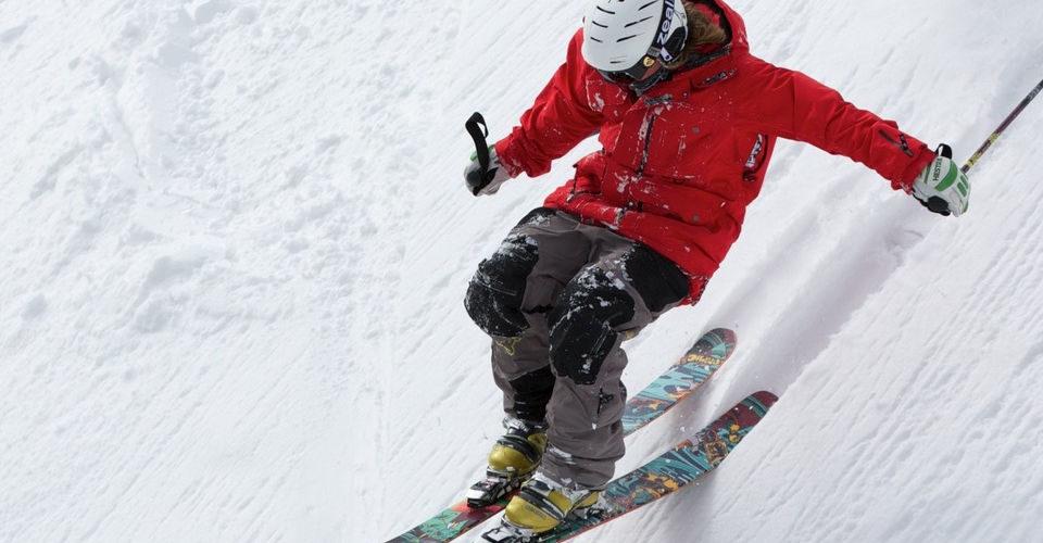 skiing in kitzbühel is fun