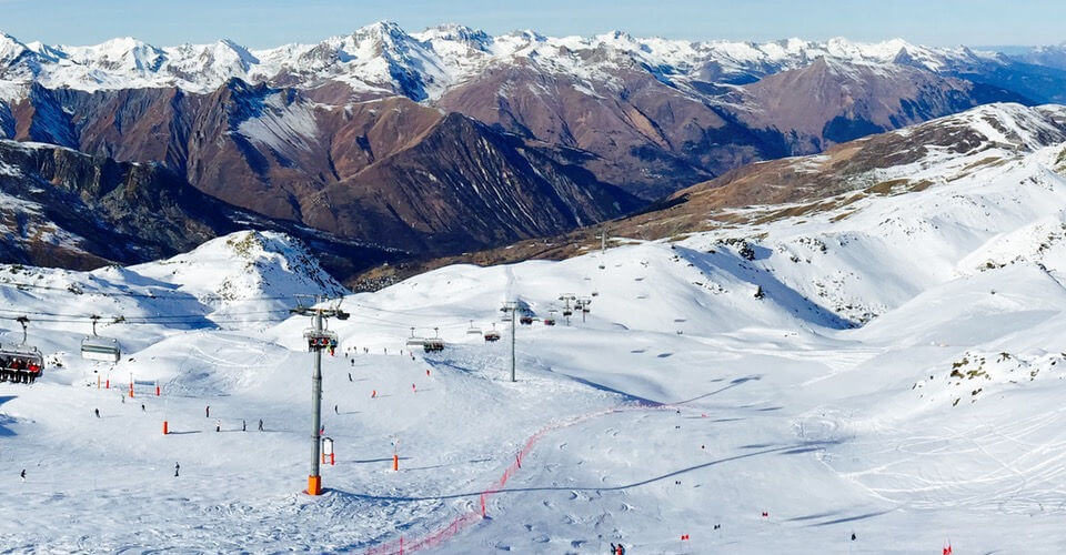 Skiing in campitello is truly amazing
