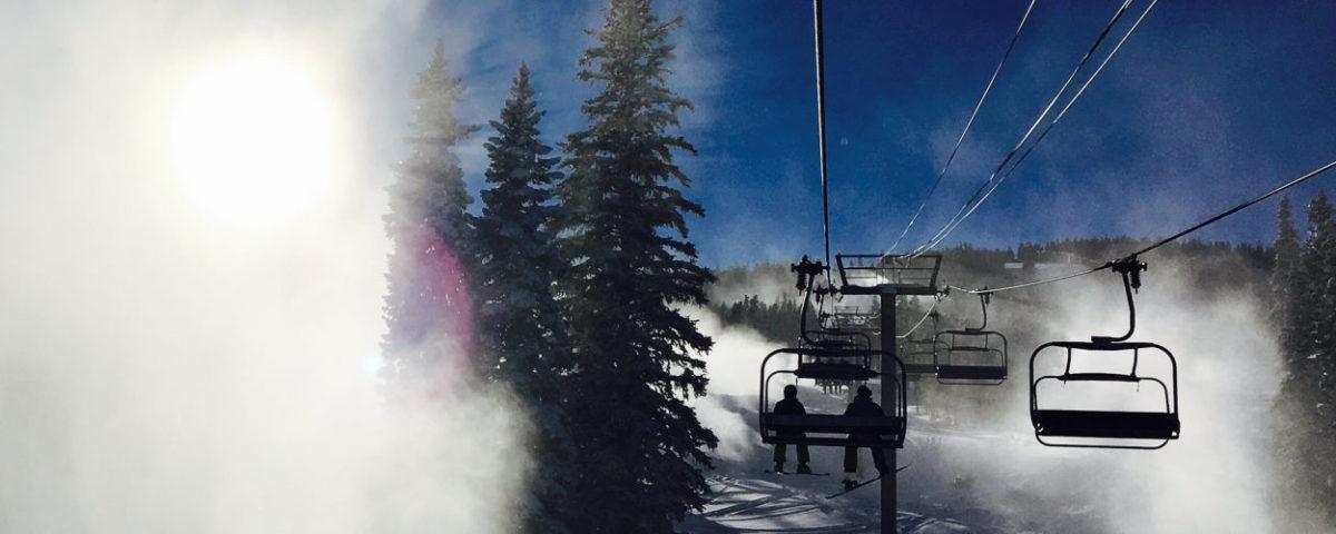 Skiing in Passo Tonale is always fun